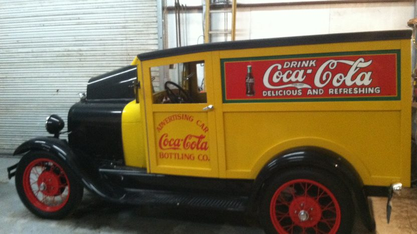 1928 Ford Model A Coca-Cola Truck Built-In Ice Box, Hand Painted Signs presented as lot F114 at Houston, TX 2013 - image2