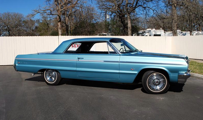 1964 Chevrolet Impala SS Hardtop 409/340 HP, 4-Speed presented as lot F129 at Houston, TX 2013 - image2