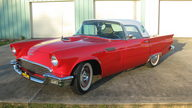 1957 Ford Thunderbird 390 CI, 4-Speed presented as lot F144 at Houston, TX 2013 - thumbail image11
