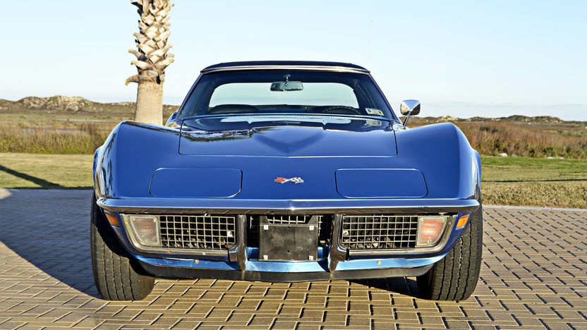 1971 Chevrolet Corvette Convertible 350/270 HP, 4-Speed, Two Tops presented as lot F151 at Houston, TX 2013 - image7