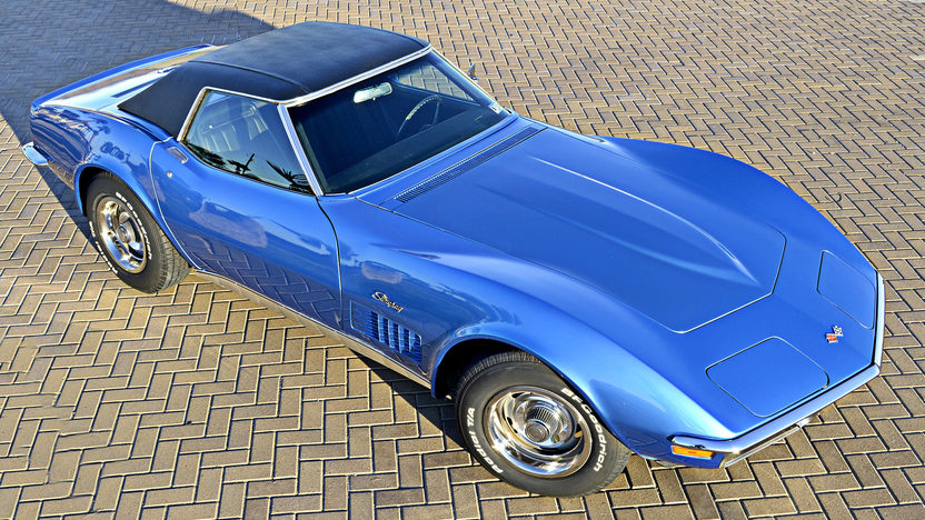 1971 Chevrolet Corvette Convertible 350/270 HP, 4-Speed, Two Tops presented as lot F151 at Houston, TX 2013 - image8