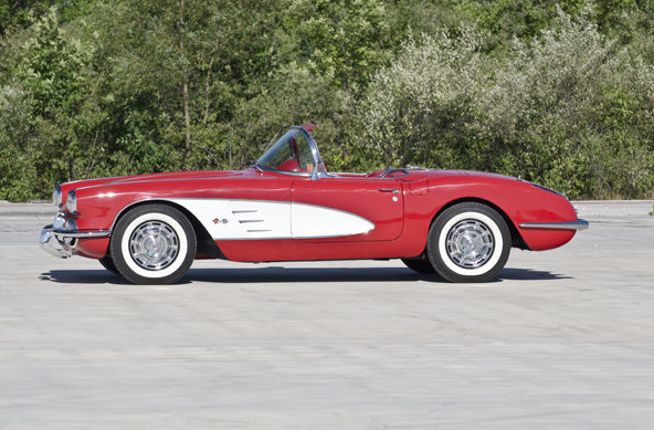 1960 Chevrolet Corvette Convertible 283/245 HP, 4-Speed presented as lot F165 at Houston, TX 2013 - image6