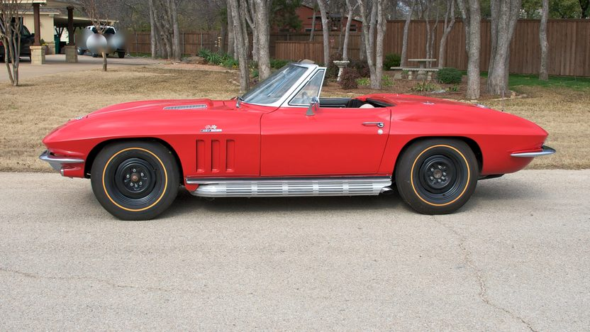 1966 Chevrolet Corvette Convertible 427/390 HP, 4-Speed presented as lot F184 at Houston, TX 2013 - image2