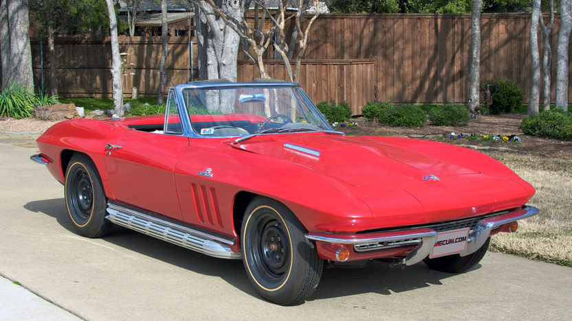 1966 Chevrolet Corvette Convertible 427/390 HP, 4-Speed presented as lot F184 at Houston, TX 2013 - image7