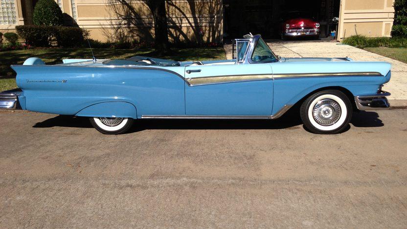 1957 Ford Fairlane 500 Convertible Loaded with Options presented as lot F198 at Houston, TX 2013 - image5