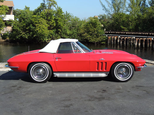 1966 Chevrolet Corvette Convertible 427/425 HP, 4-Speed presented as lot F202 at Houston, TX 2013 - image2