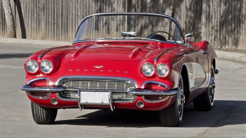 1961 Chevrolet Corvette Convertible Dual Quads, 4-Speed presented as lot F221 at Houston, TX 2013 - image10