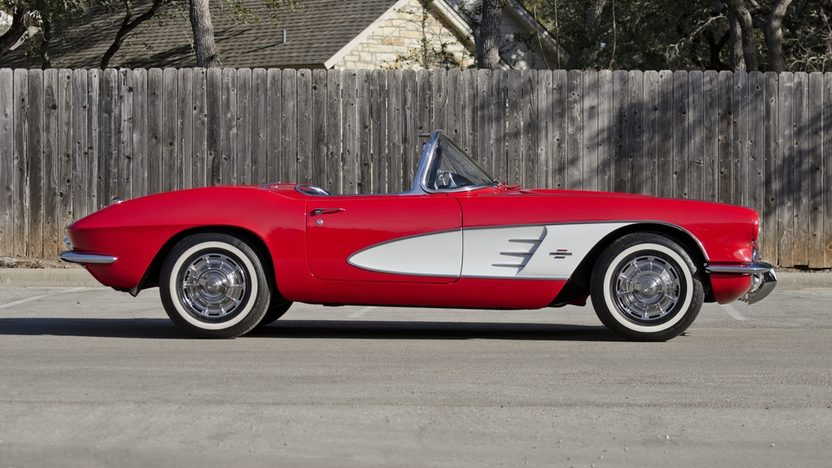 1961 Chevrolet Corvette Convertible Dual Quads, 4-Speed presented as lot F221 at Houston, TX 2013 - image3