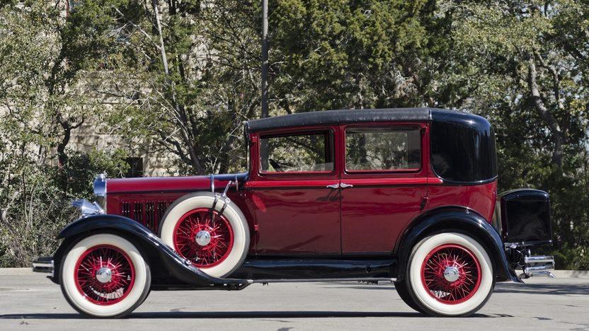 1930 Studebaker Dictator Sedan Straight Six, 3-Speed, Complete Restoration presented as lot F225 at Houston, TX 2013 - image9