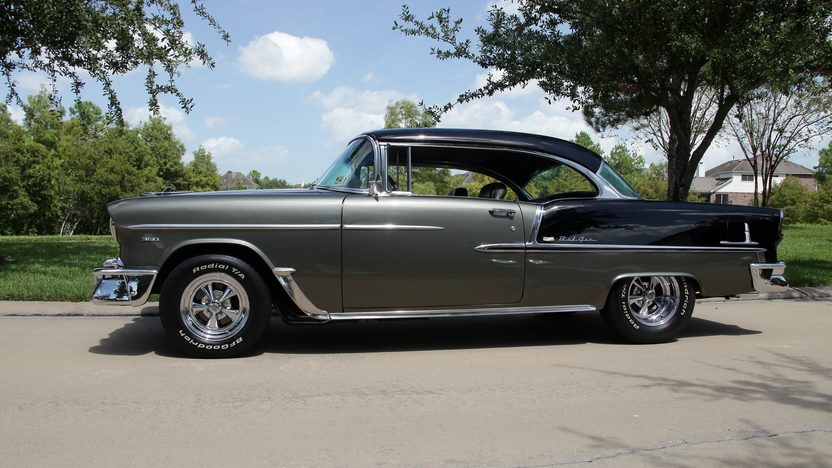 1955 Chevrolet Bel Air Pro Touring 350 CI, 4-Speed presented as lot F226 at Houston, TX 2013 - image2