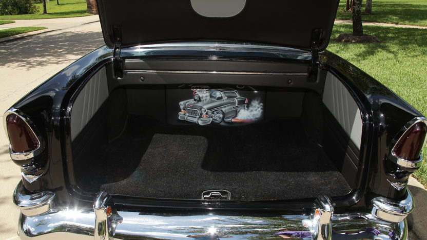 1955 Chevrolet Bel Air Pro Touring 350 CI, 4-Speed presented as lot F226 at Houston, TX 2013 - image5