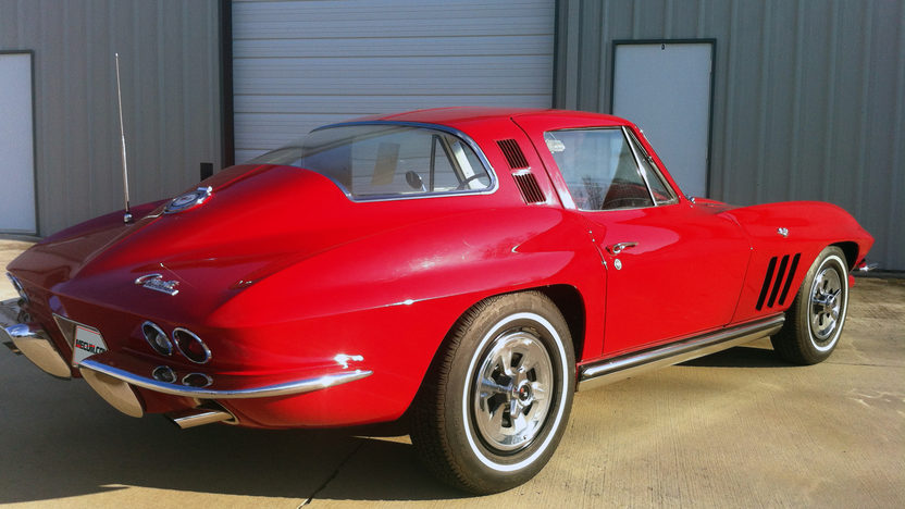 1965 Chevrolet Corvette Coupe 327/300 HP, 4-Speed, Gold Certified presented as lot F229 at Houston, TX 2013 - image2