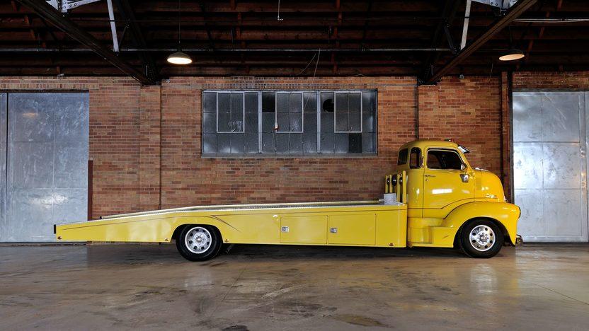 1947 Chevrolet COE Car Hauler 500 CI, 5 Window Cab presented as lot F245 at Houston, TX 2013 - image2