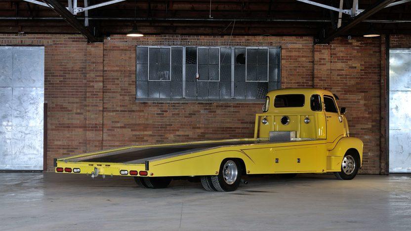 1947 Chevrolet COE Car Hauler 500 CI, 5 Window Cab presented as lot F245 at Houston, TX 2013 - image3