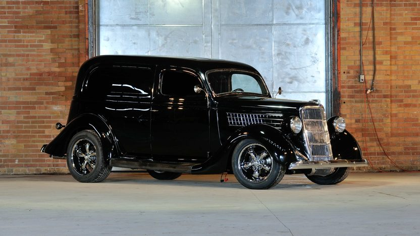 1935 Ford Sedan Delivery Street Rod 350 CI, Steel Body and Fenders presented as lot F247 at Houston, TX 2013 - image3