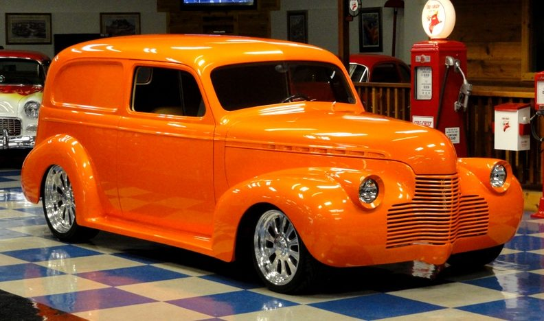 1940 Chevrolet Sedan Delivery LT4/330 HP, All Steel Body presented as lot F258 at Houston, TX 2013 - image12