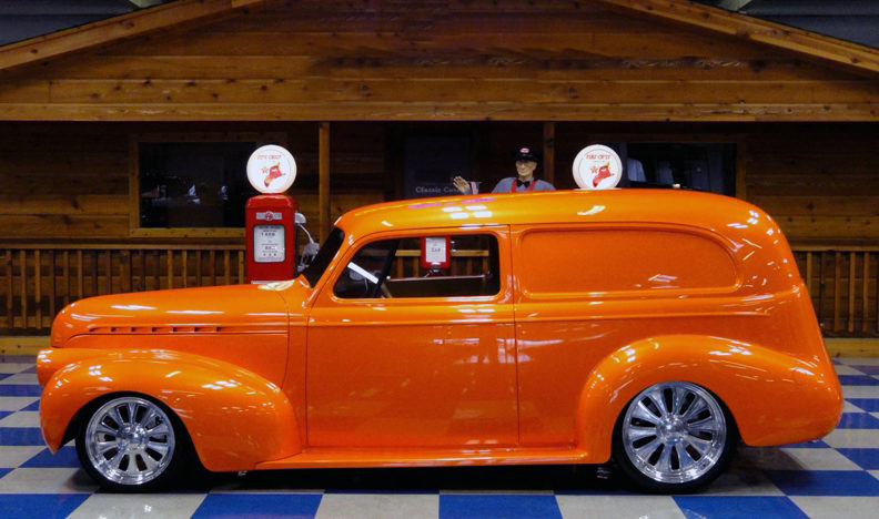 1940 Chevrolet Sedan Delivery LT4/330 HP, All Steel Body presented as lot F258 at Houston, TX 2013 - image2