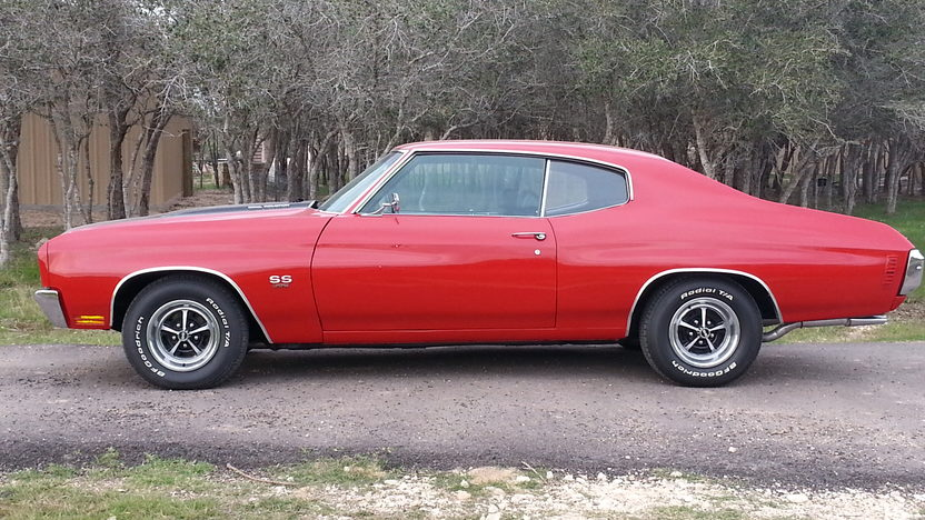 1970 Chevrolet Chevelle SS 396/350 HP, Automatic presented as lot F263 at Houston, TX 2013 - image2