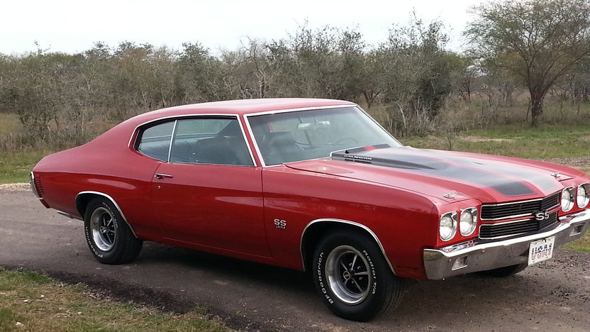 1970 Chevrolet Chevelle SS 396/350 HP, Automatic presented as lot F263 at Houston, TX 2013 - image5