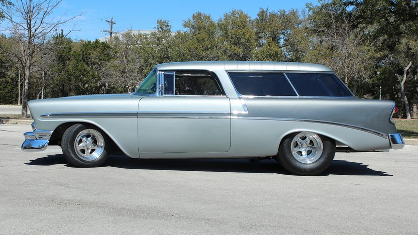 1956 Chevrolet Nomad Street Rod 350 CI, Automatic presented as lot F270 at Houston, TX 2013 - image2