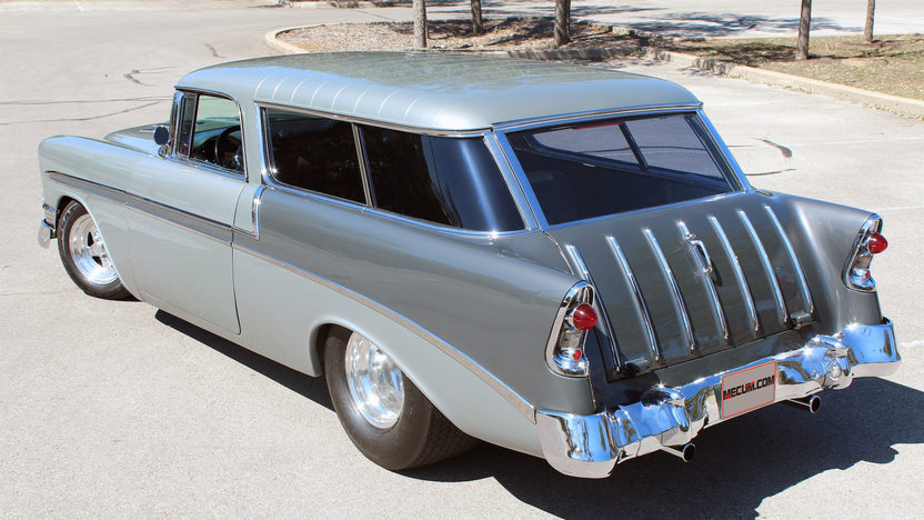 1956 Chevrolet Nomad Street Rod 350 CI, Automatic presented as lot F270 at Houston, TX 2013 - image3