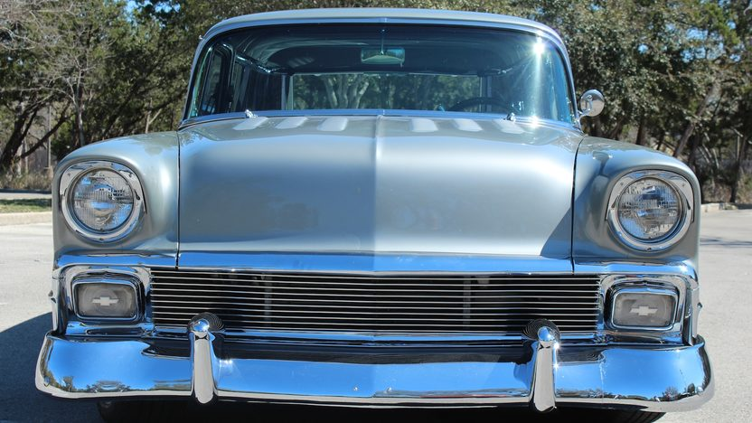 1956 Chevrolet Nomad Street Rod 350 CI, Automatic presented as lot F270 at Houston, TX 2013 - image7