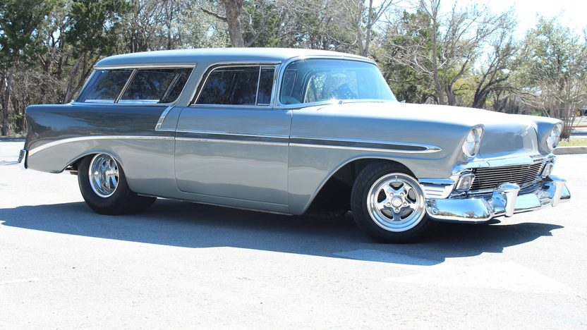 1956 Chevrolet Nomad Street Rod 350 CI, Automatic presented as lot F270 at Houston, TX 2013 - image8