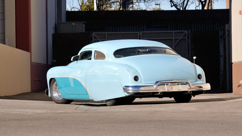 1950 Mercury Sedan Lead Sled Chopped, Channeled and Shaved presented as lot F276 at Houston, TX 2013 - image3