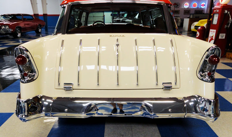 1956 Chevrolet Nomad 350 CI, Vintage Air presented as lot F281 at Houston, TX 2013 - image3