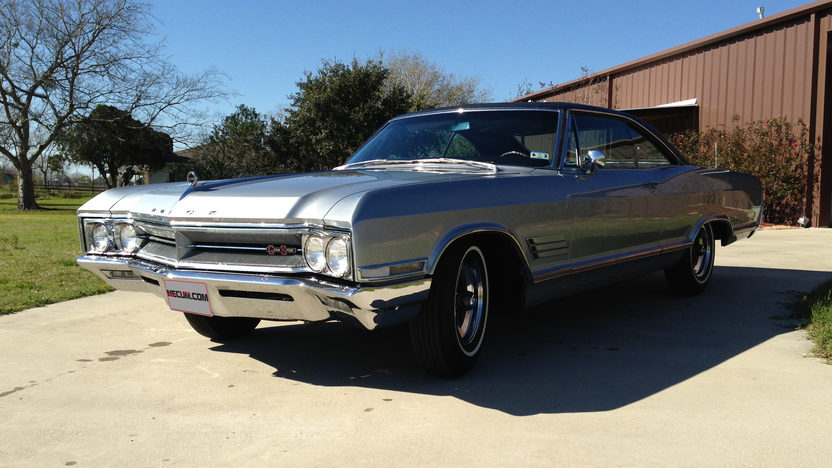 1966 Buick Wildcat GS Coupe 425 CI, Automatic presented as lot F287 at Houston, TX 2013 - image6