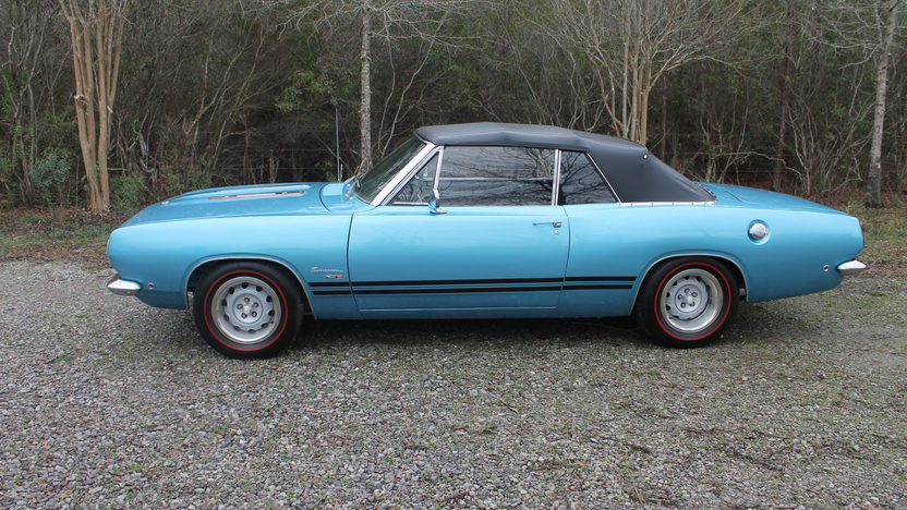 1968 Plymouth Barracuda Convertible presented as lot F300 at Houston, TX 2013 - image2