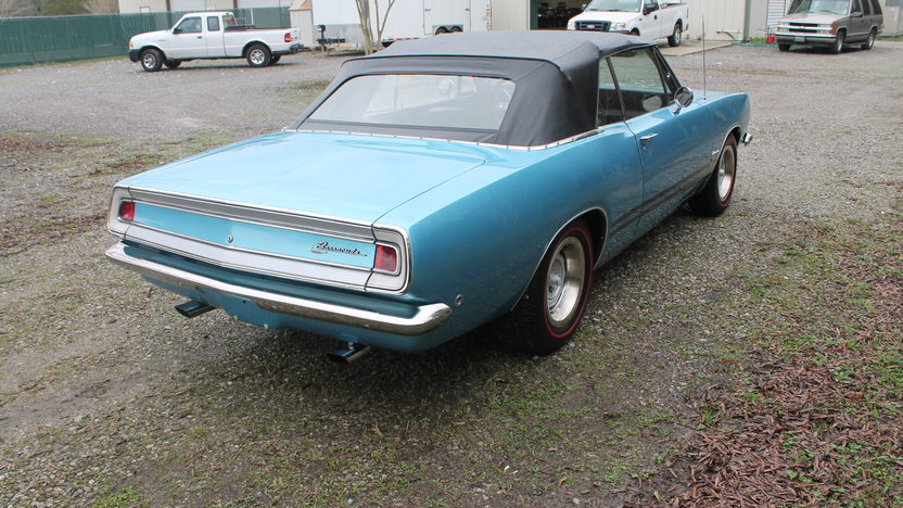 1968 Plymouth Barracuda Convertible presented as lot F300 at Houston, TX 2013 - image3