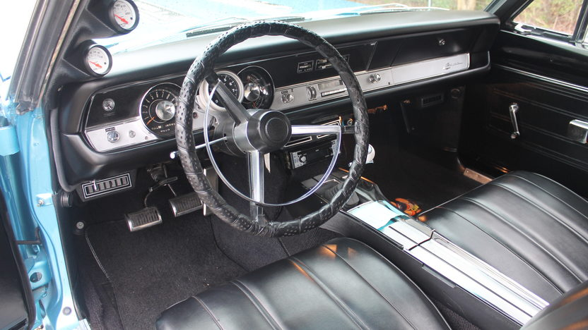 1968 Plymouth Barracuda Convertible presented as lot F300 at Houston, TX 2013 - image4