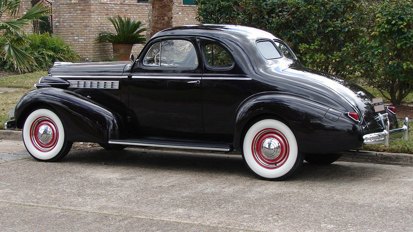 1938 Buick Business Coupe 248/107 HP, 3-Speed presented as lot F311 at Houston, TX 2013 - image2