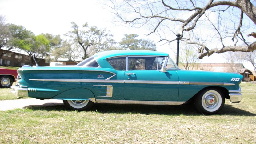 1958 Chevrolet Impala Hardtop 283 CI, Continental Kit presented as lot F322 at Houston, TX 2013 - image7