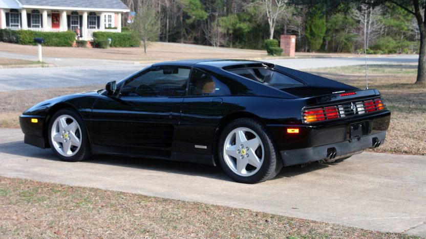 1991 Ferrari 348TS 44,000 Miles, Black/Tan presented as lot F323 at Houston, TX 2013 - image2