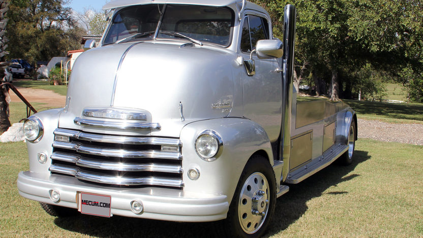 1951 Chevrolet COE 5.9L Cummins Diesel presented as lot F331 at Houston, TX 2013 - image8