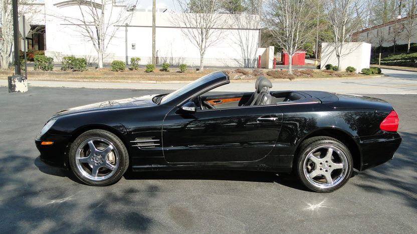 2003 Mercedes-Benz SL500 presented as lot F358 at Houston, TX 2013 - image2