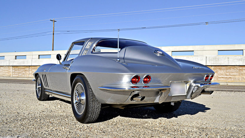 1965 Chevrolet Corvette Coupe 396/425 HP, 4-Speed, Silver/Red presented as lot S125 at Houston, TX 2013 - image2