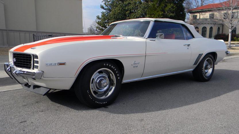 1969 Chevrolet Camaro Z11 Pace Car Edition