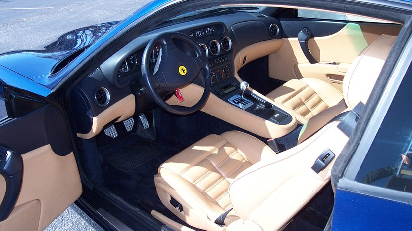 1999 Ferrari 550 presented as lot S143 at Houston, TX 2013 - image3