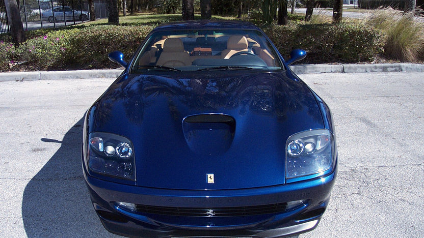 1999 Ferrari 550 presented as lot S143 at Houston, TX 2013 - image9