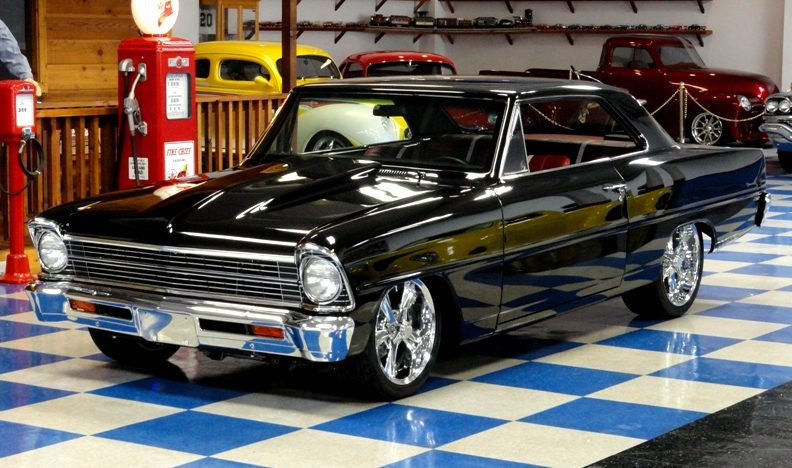 1967 Chevrolet Nova Pro Touring Supercharged LS6, 6-Speed presented as lot S145 at Houston, TX 2013 - image12