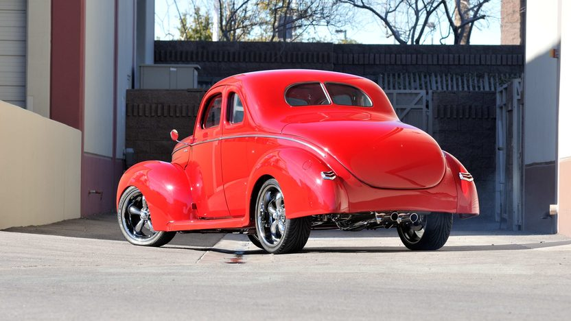 1940 Ford Coupe Street Rod Supercharged 5.0L, Air Ride presented as lot S151 at Houston, TX 2013 - image3