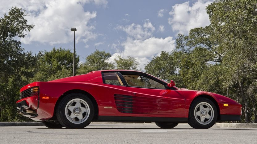 1987 Ferrari Testarossa Two Owner with 4,700 Miles, Factory Luggage presented as lot S169 at Houston, TX 2013 - image11