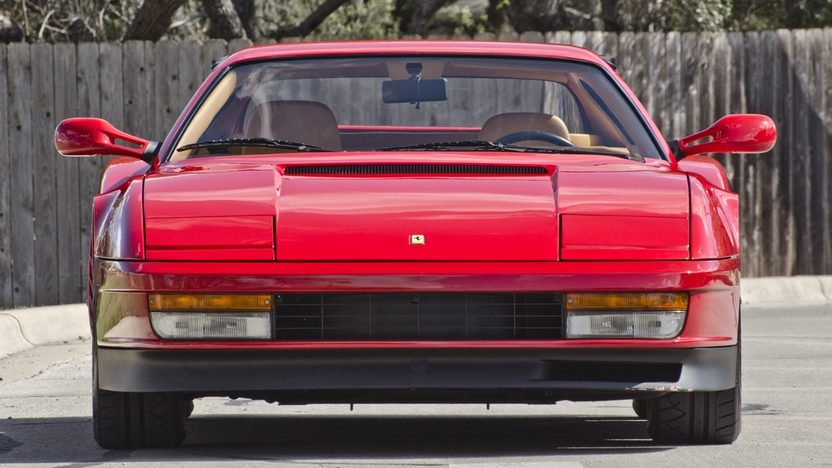1987 Ferrari Testarossa Two Owner with 4,700 Miles, Factory Luggage presented as lot S169 at Houston, TX 2013 - image12
