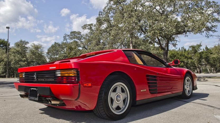 1987 Ferrari Testarossa Two Owner with 4,700 Miles, Factory Luggage presented as lot S169 at Houston, TX 2013 - image2