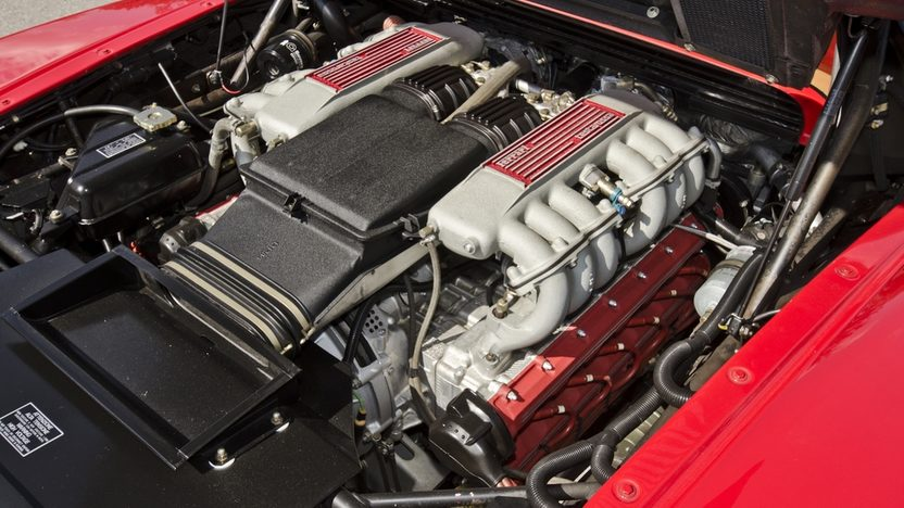 1987 Ferrari Testarossa Two Owner with 4,700 Miles, Factory Luggage presented as lot S169 at Houston, TX 2013 - image8
