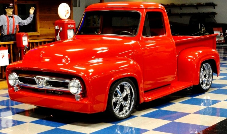 1953 Ford F100 Pickup 350 CI, Air Ride presented as lot S156.1 at Houston, TX 2013 - image12