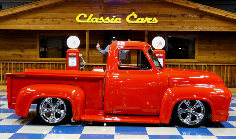 1953 Ford F100 Pickup 350 CI, Air Ride presented as lot S156.1 at Houston, TX 2013 - image2